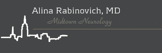 Midtown Neurology MD | Dr. Alina Rabinovich | New York City Logo